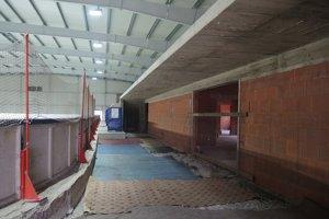 Zimný štadión v Bánovciach nad Bebravou.