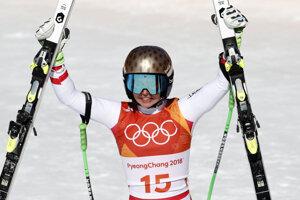 Rakúšanka Anna Veithová získala striebro.