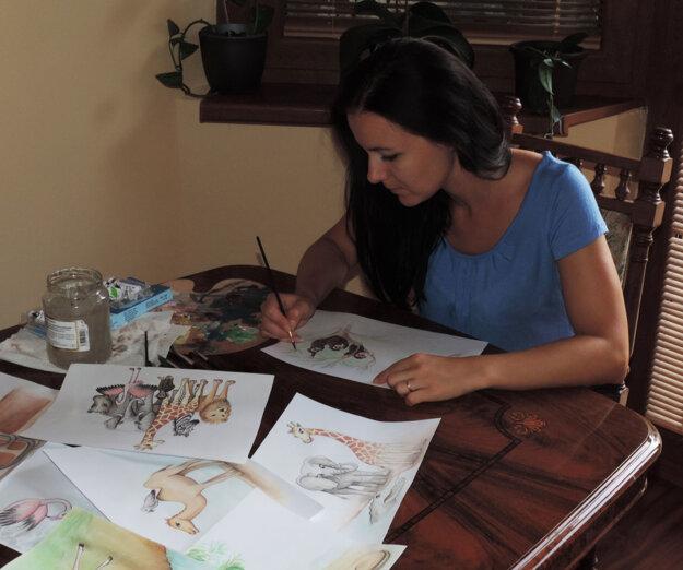 Vzniká aj kniha s ilustráciami Andrey Pribilincovej.