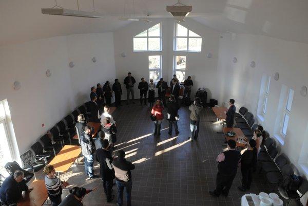 V obci Červenica otvorili komunitné centrum.