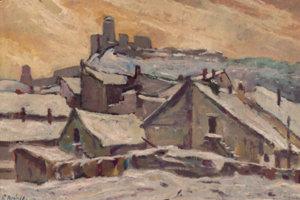 Jedno z diel akademického maliara Ľudovíta Bránskeho.