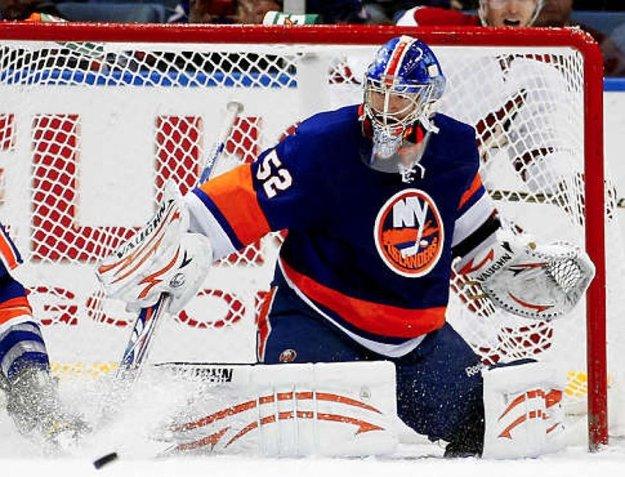 V slávnej NHL nastúpil v desiatich zápasoch.
