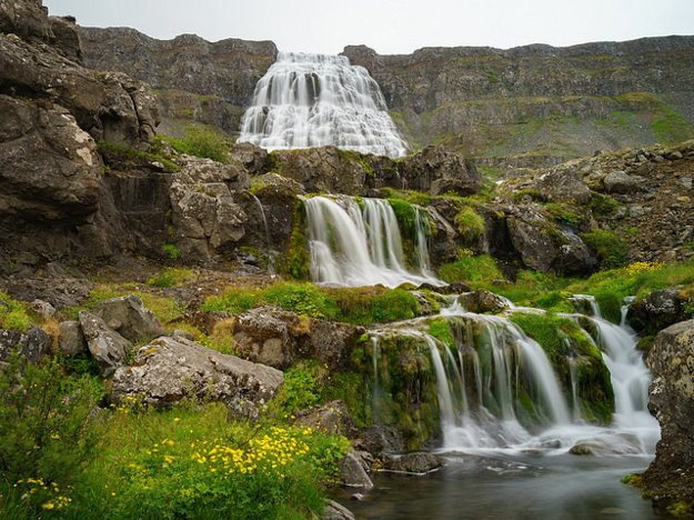 Island. Dynjandi