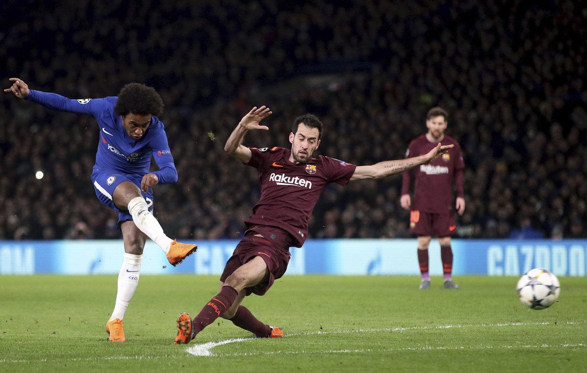 15f56d41c03fe Chelsea : Barcelona - Online - Liga majstrov 2017/2018 - Šport SME
