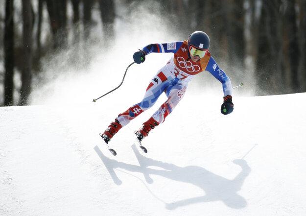 Slovenská lyžiarka Barbara Kantorová.