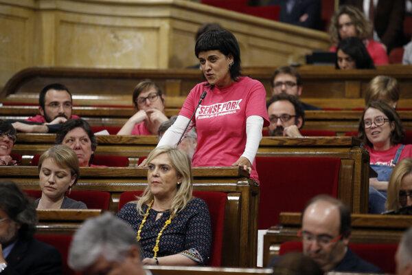 Katalánska politička Anna Gabrielová.