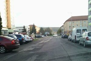 Ulica Dr. Janského.