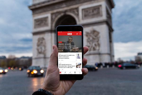 Aplikácia SME.sk pre iOS
