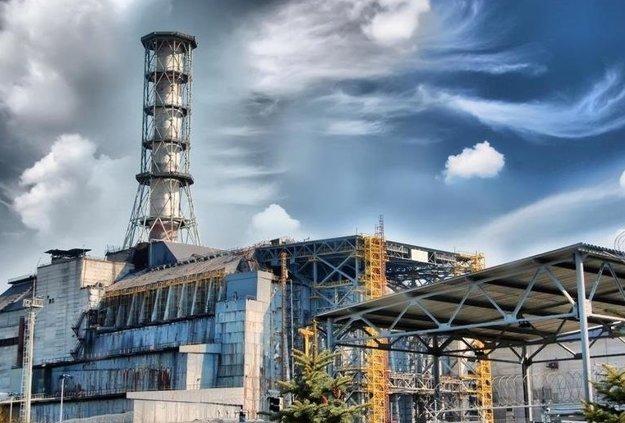 Reaktor v Černobyle