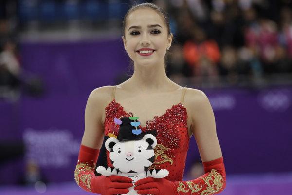 Ruská krasokorčuliarka Alina Zagitovová získala na ZOH 2018 v Pjongčangu zlatú medailu v súťaži sólistiek.