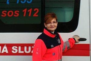 Adriana Pelčová pôsobí ako záchranárka už štrnásť rokov.