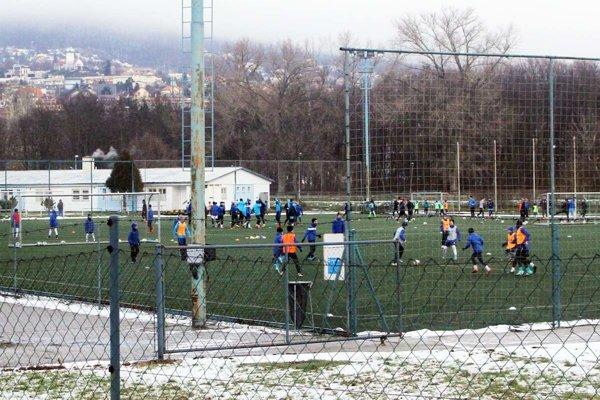 Umelú trávu využíva hlavne mládež z akadémie FC Nitra.