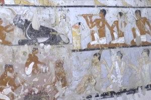 V Egypte našli starovekú nekropolu, do ktorej viac ako dvetisíc rokov nik nevstúpil.