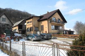 Dom Martininej rodiny v Gregorovciach.