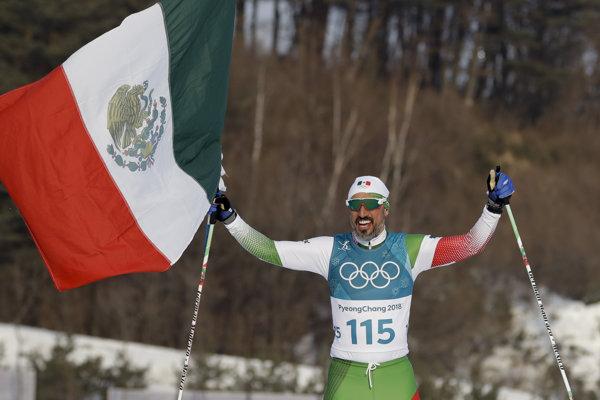 Mexičan German Madrazo skončil v behu na 15 km voľne posledný. Tešil sa, akoby zvíťazil.