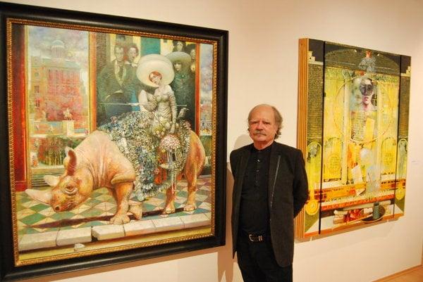 Maliar Nikolaj Feďkovič miluje staromajstrovskú školu