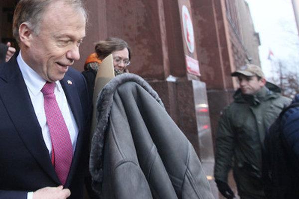 Nemecký veľvyslanec v Poľsku Rolf Nikel.