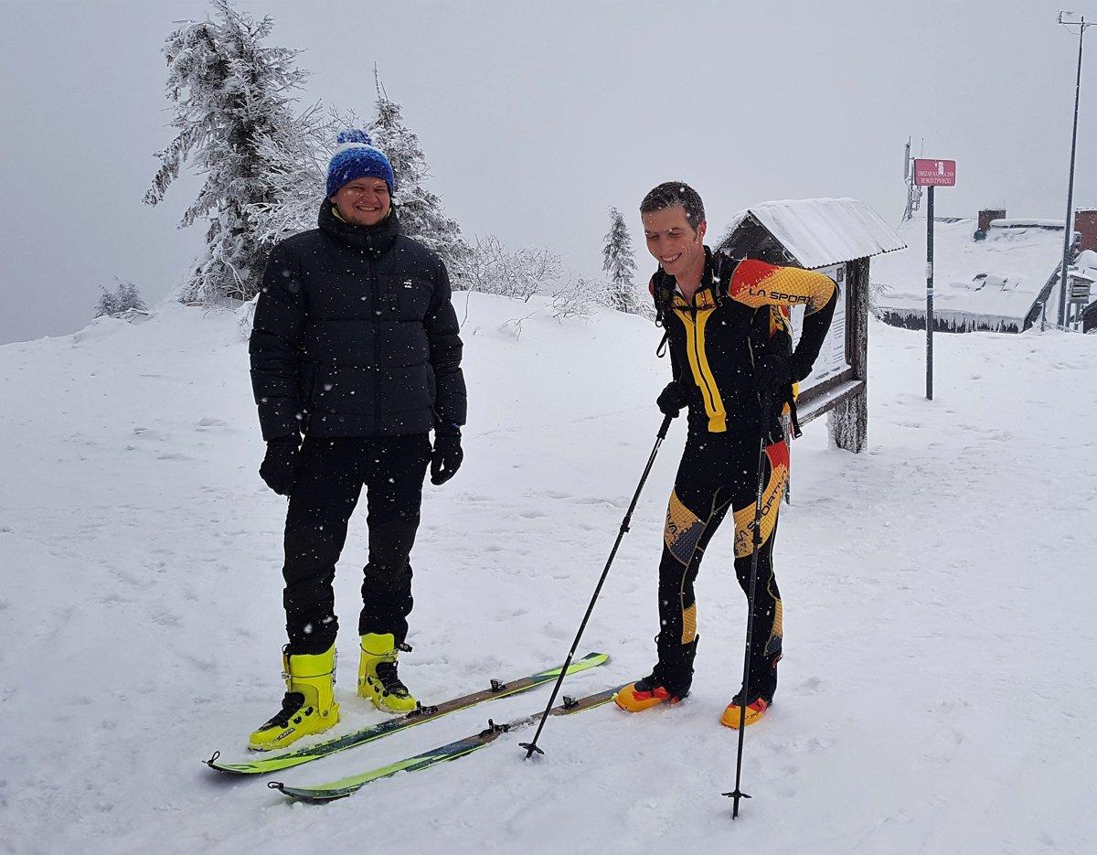 5c0e7ada2c Na Veľkej Rači sa stretli viac ako dve desiatky skialpinistov - SME ...
