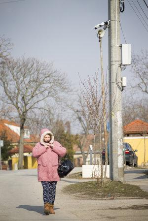 Kamerový systém pokrýva väčšinu obce.