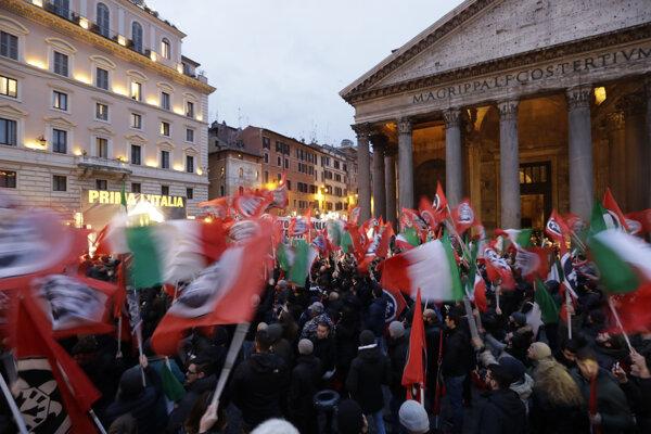 Voľby v taliansku sa budú konať v nedeľu, výhodu majú koalície.
