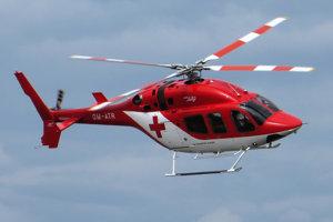 Chlapca previezol vrtuľník do Univerzitnej nemocnice v Martine.