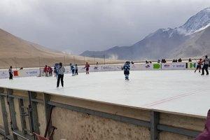 Zápas do Guinnessovej knihy rekordov sa odohral v nadmorskej výške 4500 m.