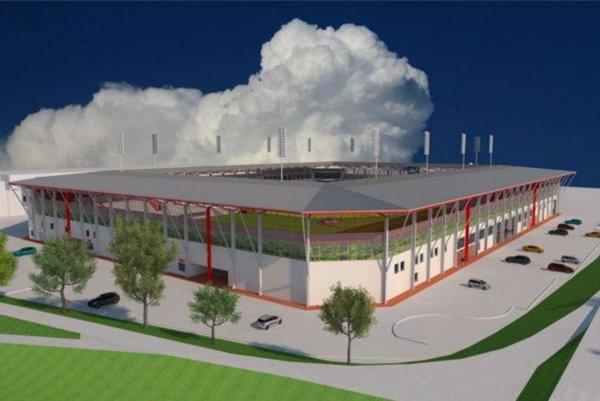 Nový futbalový štadión v Trenčíne