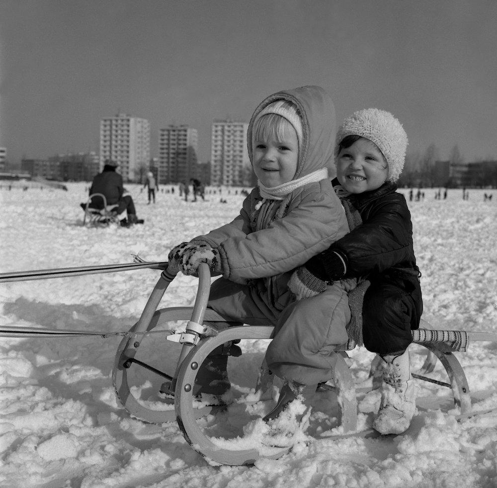 Na archívnej snímke z 15. januára 1979 zima v Bratislave.