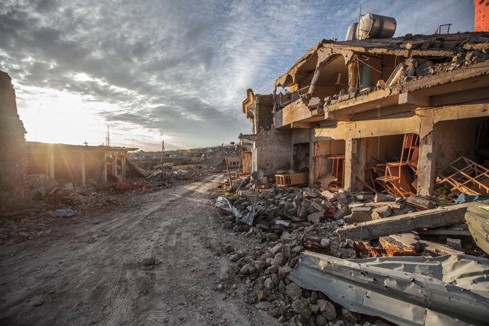 Zničený Sindžár už nie je mestom vhodným na život.