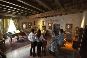 Pôvodný dom Maríny Pischlovej (Radničné námestie - Banská Štiavnica) - Archív múzea Epicentrum lásky