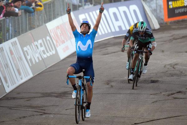 Španiel Mikel Landa z tímu Movistar sa stal víťazom 4. etapy.