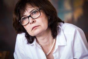 05. apríl 2016. Ministerka spravodlivosti SR Lucia Žitňanská počas rozhovoru pre SME.