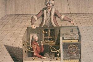 Takto nejako mohol fungovať Kempelenov šachový automat