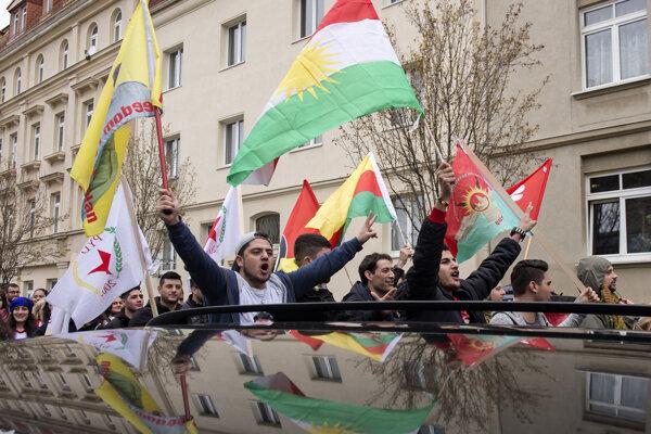 Hannover bol už opakovane dejiskom ústredného podujatia Kurdov.