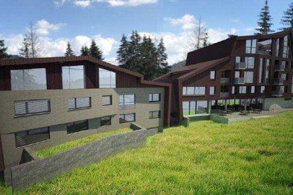 Vizualizácia nových apartmánov.