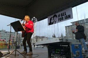 Hudobný hosť podujatia Vlastimil Hrdlička.