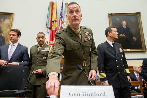 Generál americkej armády Joseph Dunford.