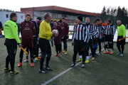 Zo zápasu Santrio Láza - Cinobaňa.
