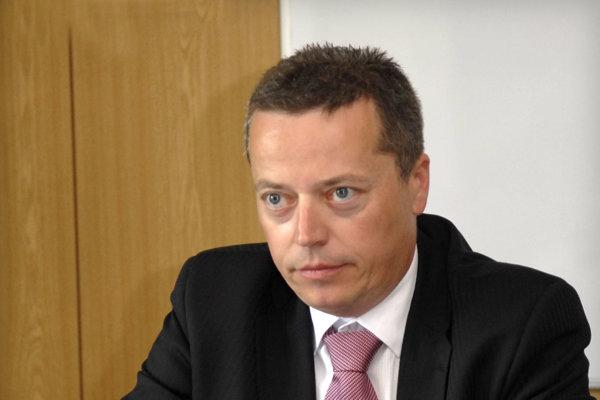 Martin Jaš. V čase, keď bol ekonomickým riaditeľom DPMK.