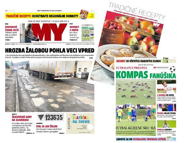 MY Oravské noviny, 20. - 26. marca 2018