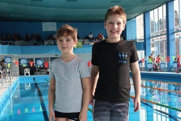 Triatlon team Dolný Kubín reprezentovali Jakub Machaj a Jakub Pňaček.