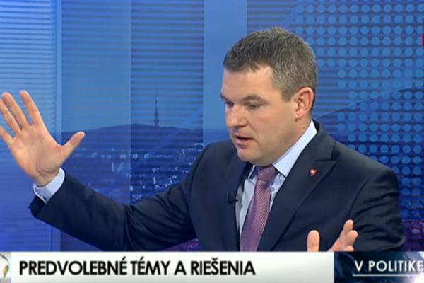 Peter Pellegrini v televíznej diskusii posilnil predsudky voči Rómom vyhlásením, že sa im nechce pracovať.