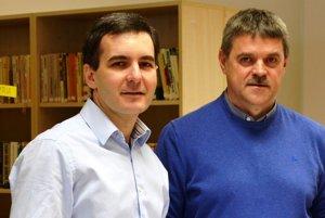 Maroš Sagan (vľavo) je dlhoročný starosta Cífera.