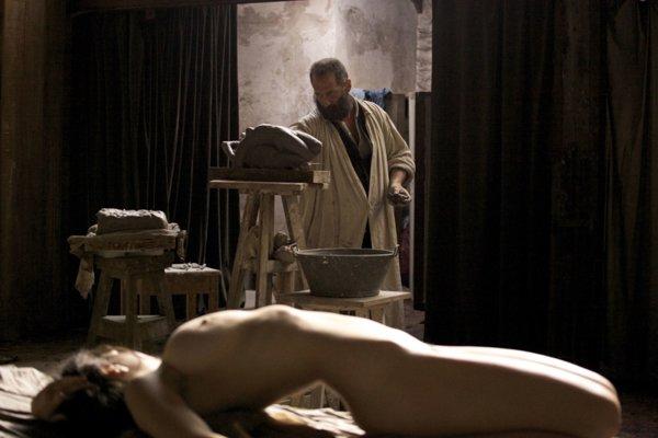 Vincent Lindon vo filme Rodin.