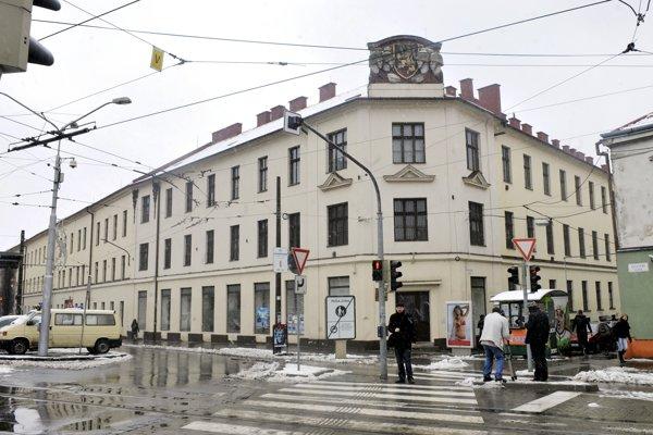 Hurbanove kasárne v Bratislave.