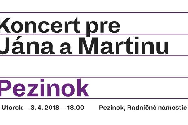 Koncert pre Jána a Martinu