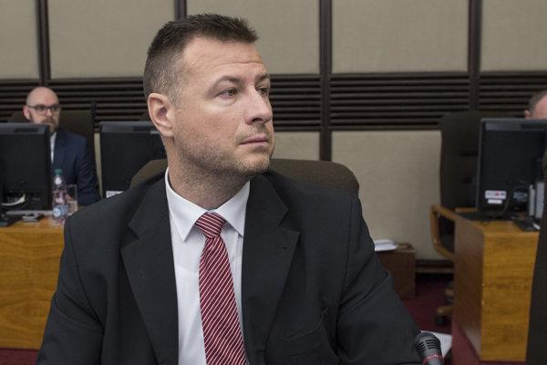 Minister spravodlivosti Gábor Gál počas 96. schôdze vlády SR 28. marca.