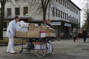 Areál Fakultnej nemocnice s poliklinikou J. A. Reimana v Prešove.