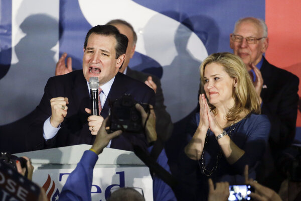 Ted Cruz si pripísal prvé víťazstvo na ceste do Bieleho domu.