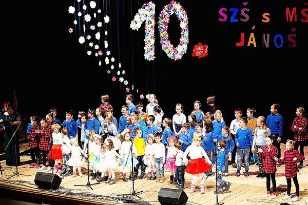 Súkromná základná škola Jánoš oslávila jubileum.
